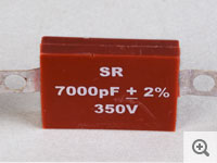 Molded Axial Type capacitor